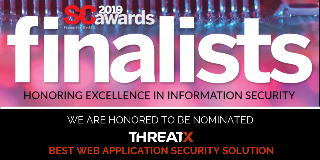 ThreatX Finalist for Best Web Application Solution