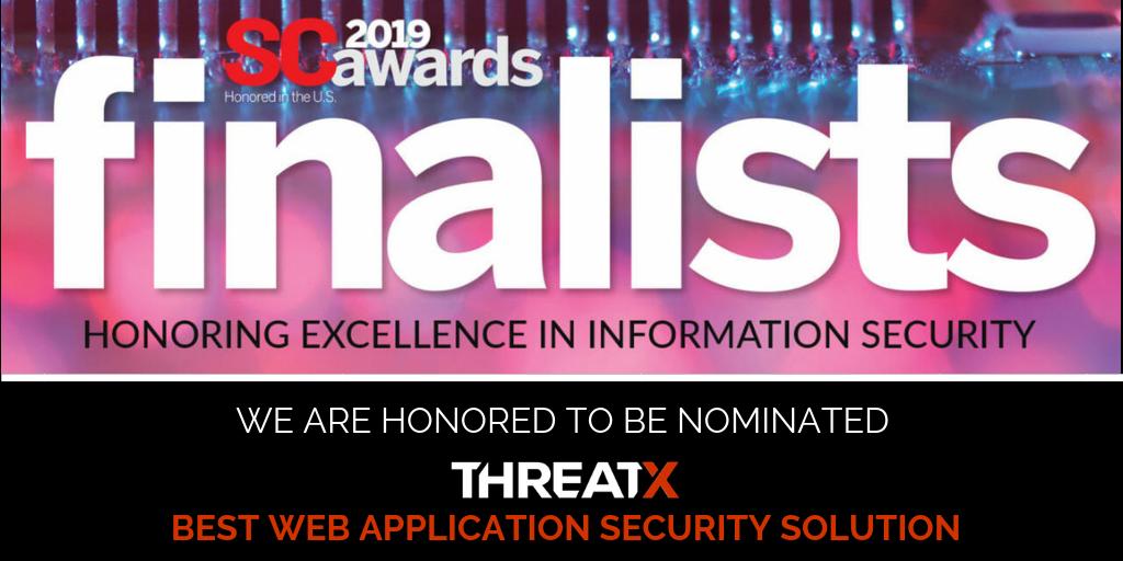 ThreatX Finalist for Best Web Application Solution
