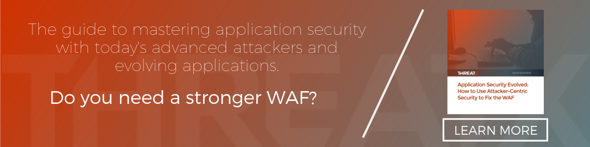 How to Use Attacker-Centric Security to Fix the WAF Whitepaper - Download Now