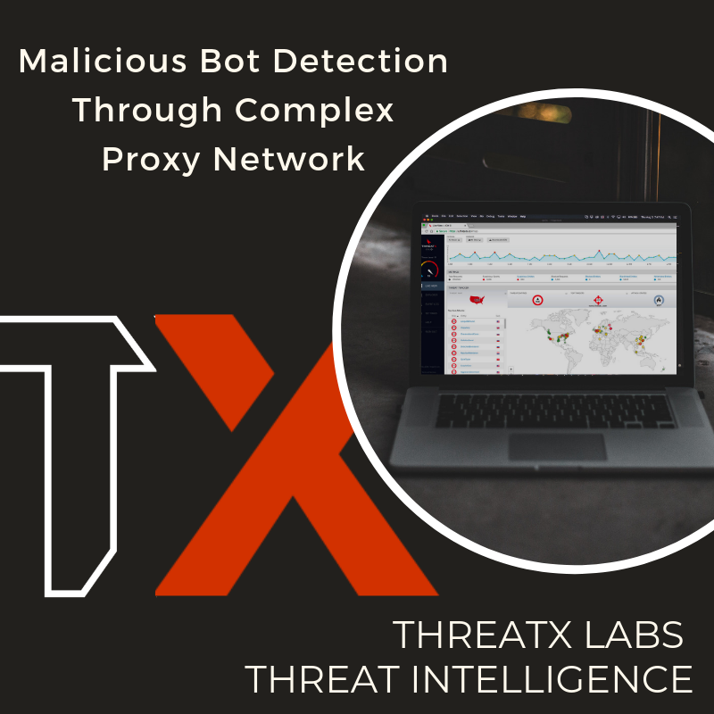 Malicious Bot Detection Through A Complex Proxy Network